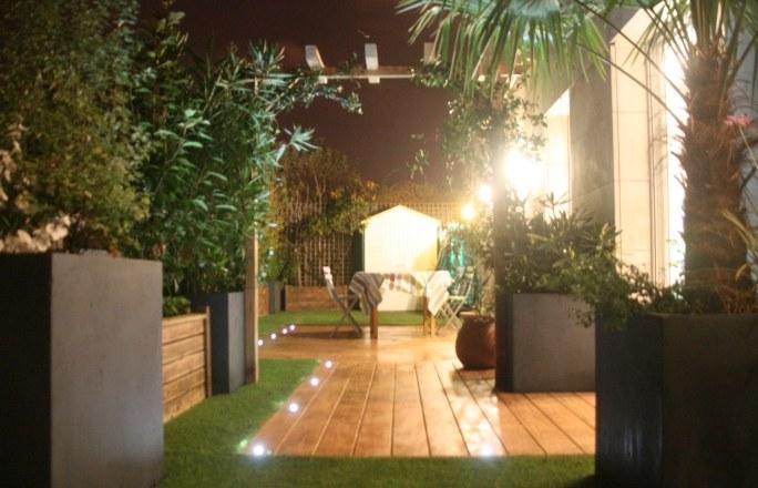 Ledowe lampy w ogrodzie lampy ogrodowe for Luminaire terrasse